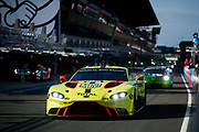June 16-17, 2018: 24 hours of Le Mans. 95 Aston Martin Racing, Aston Martin Vantage, Nicki Thiimm Marco Sorensen, Darren Turner