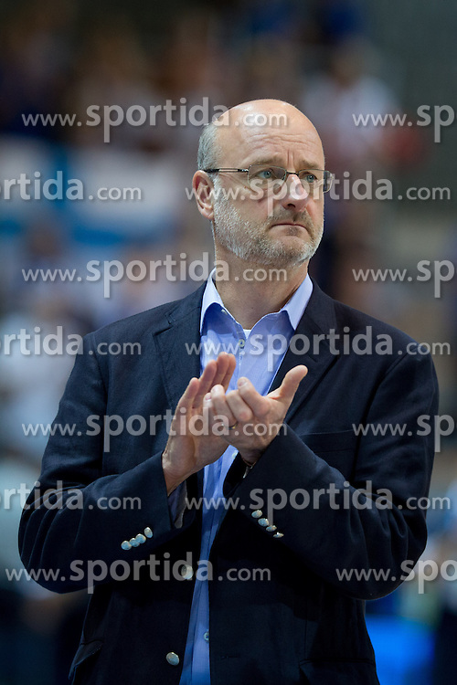 Henrik Dettmann, head coach of Finland during basketball match between national team of Greece and Finland of Eurobasket 2013 on September 9, 2013 in Arena Bonifika, Koper, Slovenia. (Photo By Matic Klansek Velej / Sportida.com)