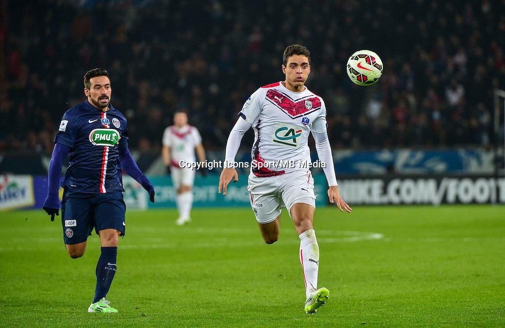 Tiago ILORI - 21.01.2015 - Paris Saint Germain / Bordeaux - Coupe de France<br /> Photo : Dave Winter / Icon Sport