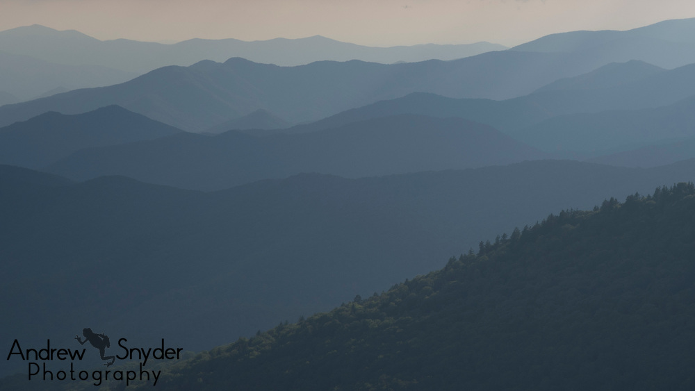 Rolling Mountains - Great Smoky Mountains, Tennessee