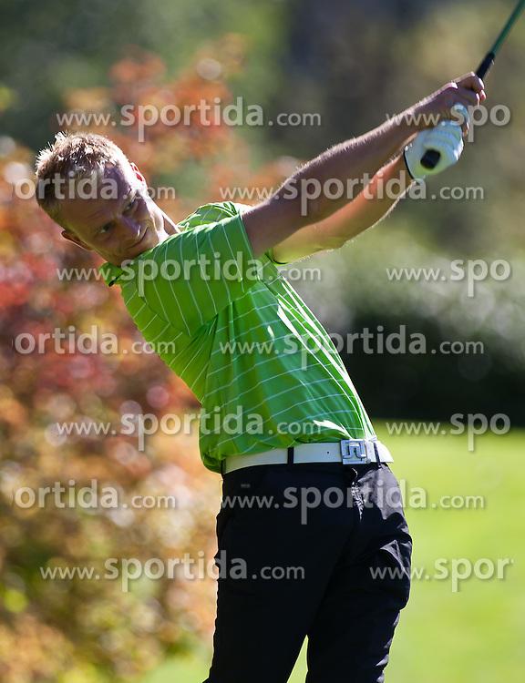 03.10.2010, Golfclub, Zell am See Kaprun, AUT, European Paragolf Championships 2010, im Bild Stefan Morkholt, DEN, EXPA Pictures © 2010, PhotoCredit: EXPA/ J. Feichter