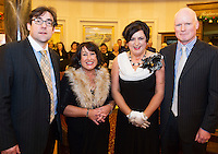 Barry and Imelda Finnegan with Patricia and Ambrose Feeney from Athlone at the Gorta Self Help Africa Annual Ball at the Galway Bay Hotel, Salthill Galway.<br /> Photo:Andrew Downes, xposure.