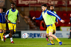 Tom Lockyer of Bristol Rovers warms up at Doncaster Rovers - Mandatory by-line: Robbie Stephenson/JMP - 26/03/2019 - FOOTBALL - Keepmoat Stadium - Doncaster, England - Doncaster Rovers v Bristol Rovers - Sky Bet League One