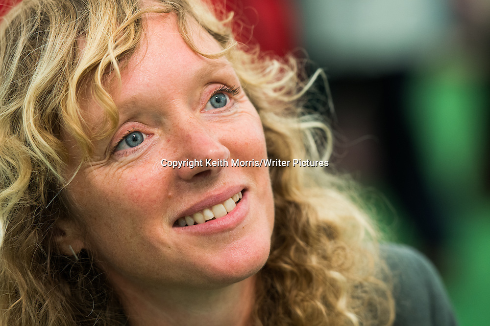 Jenny Valentine, British children's novelist. Winner of Guardian Children's Fiction Prize for her first novel and best-known work, Finding Violet Park. The Hay Festival of Literature and the Arts, Hay on Wye, Powys, Wales UK, June 01 2016<br /> <br /> Picture by Keith Morris/Writer Pictures