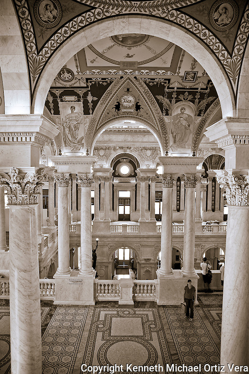 Pillars & Arches, Library of Congress.