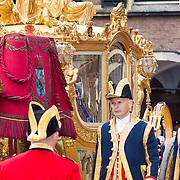 NLD/Den Haag/20130917 -  Prinsjesdag 2013, Koningin Maxima