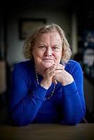 Den Haag, 6 maart 2018 - Portret van Jeltje van Nieuwenhoven .<br /> Foto: Phil Nijhuis