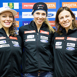 20150127: SLO, Alpine Ski - Press conference of Slovenian Women Ski Team