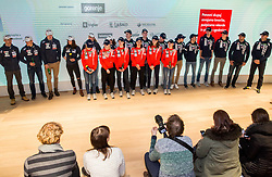 Press conference of Slovenian Nordic Ski teams, on January 8, 2018 in Triglav Lab, Ljubljana, Slovenia. Photo by Vid Ponikvar / Sportida
