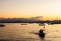 Praia de Santo Antonio de Lisboa. Florianópolis, Santa Catarina, Brasil. / Santo Antonio de Lisboa Beach. Florianopolis, Santa Catarina, Brazil.