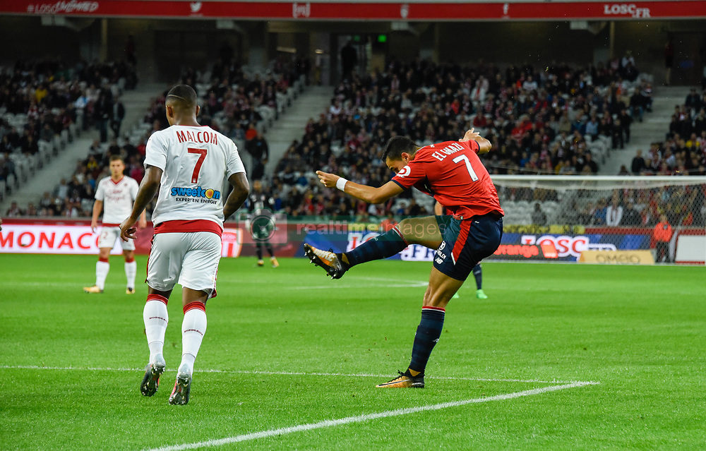 September 8, 2017 - Lille, France - Anwar El Ghazi  (Credit Image: © Panoramic via ZUMA Press)
