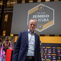 10-12-2019: Wielrennen: Teampresentatie Jumbo Visma: Amsterdam<br />Richard Plugge