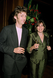 MR MATHEW & LADY ANNE CARR at a party in London on 16th 1997.LZJ 25