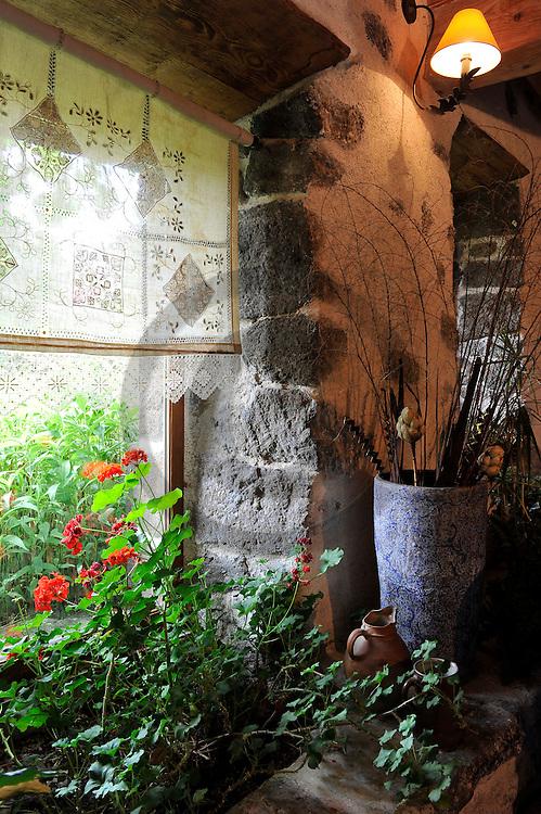02/08/10 - CHEYRAC - HAUTE LOIRE - FRANCE - Maison de la famille Pubelier - Photo Jerome CHABANNE