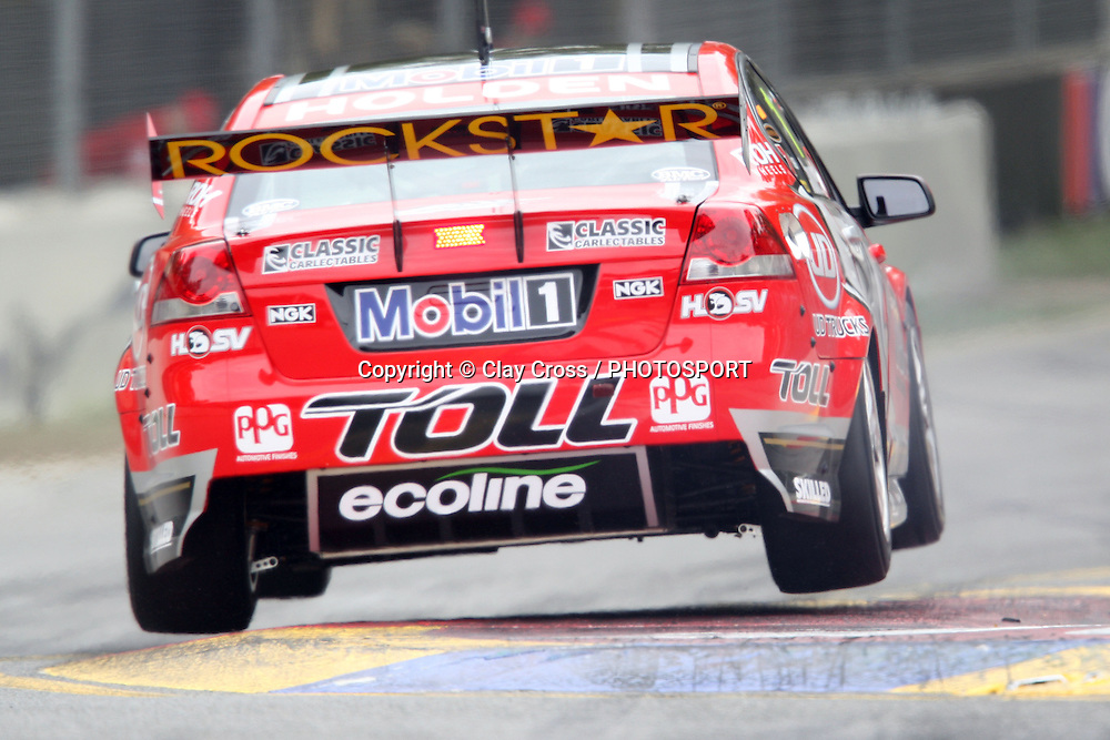 James Courtney (Holden Racing Team). Clipsal 500 ~ Race 3 & 4 of the 2011 V8 Supercar Championship Series. Adelaide Parklands Street Circuit on Saturday 19 March 2011. Photo © Clay Cross / PHOTOSPORT