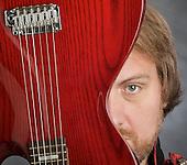Mitch Benn portrait session 13th April 2011