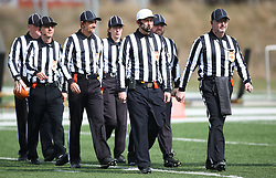 25.03.2018, Ravelinstrasse, Wien, AUT, AFL, Dacia Vienna Vikings vs Steelsharks Traun, im Bild Referee Team // during the Austrian Football League game between Dacia Vienna Vikings vs Steelsharks Traun at the Ravelinstrasse Stadion, Wien, Austria on 2018/03/25. EXPA Pictures © 2018, PhotoCredit: EXPA/ Thomas Haumer