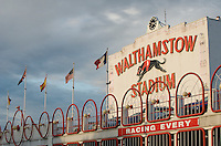 London, England, August 2008. Walthamstow stadium. biggest greyhound race track in london which closed down in Augest 2008.