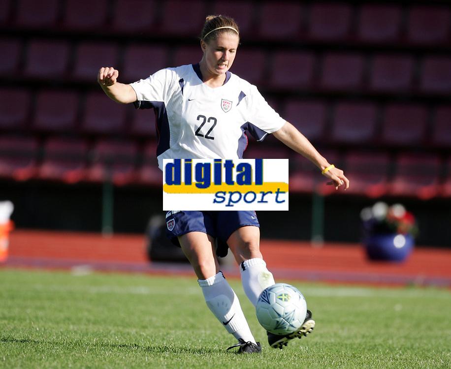 Fotball, 26. juli 2005, U21 damer, Åpent nordisk mesterskap, finale, Norge- USA 1-4,   Jen Buczkowski, USA