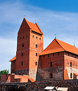 View of the Trakai Tower
