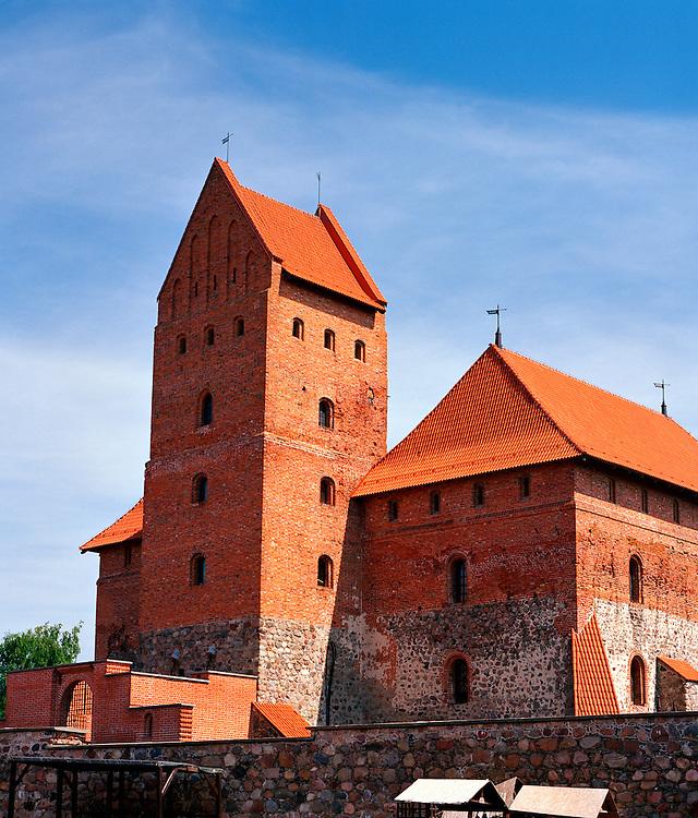 View of the Trakai Tower