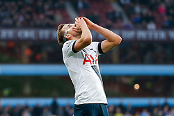 Harry Kane of Tottenham Hotspur looks frustrated - Mandatory byline: Rogan Thomson/JMP - 13/03/2016 - FOOTBALL - Villa Park Stadium - Birmingham, England - Aston Villa v Tottenham Hotspur - Barclays Premier League.
