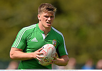 21 May 2013; Owen Farrell, British & Irish Lions, in action during squad training ahead of the British & Irish Lions Tour 2013. British & Irish Lions Tour 2013 Squad Training, Carton House, Maynooth, Co. Kildare. Picture credit: David Maher / SPORTSFILE