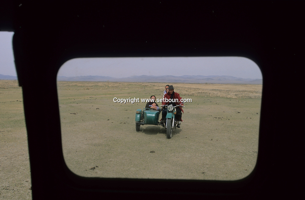 Mongolia. ville de Moron  Hovsgul aimak / ville de Moron  Hovsgul province de