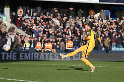 Glenn Murray of Brighton and Hove Albion misses his penalty - Mandatory by-line: Arron Gent/JMP - 17/03/2019 - FOOTBALL - The Den - London, England - Millwall v Brighton and Hove Albion - Emirates FA Cup Quarter Final