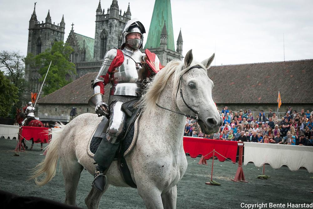 Ridderturnering under Olavsfestdagene