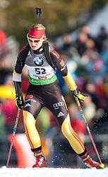 09.12.2011, Biathlonzentrum, Hochfilzen, AUT, E.ON IBU Weltcup, 2. Biathlon, Herren 10km Sprint, im Bild Carolin Hennecke (GER) // Carolin Hennecke of Germany during men 10km Sprint at E.ON IBU Worldcup 2th Biathlon, Hochfilzen, Austria on 2011/12/09. EXPA Pictures © 2011, PhotoCredit: EXPA/ Johann Groder