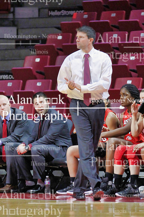 NORMAL, IL - December 04:  David Midlick during a college women's basketball game between the ISU Redbirds  and the Austin Peay Governors on December 04 2018 at Redbird Arena in Normal, IL. (Photo by Alan Look)
