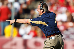 November 14, 2010; San Francisco, CA, USA;  St. Louis Rams head coach Steve Spagnuolo on the sidelines against the San Francisco 49ers during the first quarter at Candlestick Park.