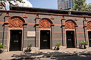 Museum of the First National Congress of the Chinese Communist Party in Shanghai, China. The museum is the site of the first congress of and the Communist Party of China