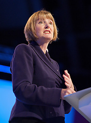 Harriet Harman during the Labour Party Conference in Manchester, October 4, 2012. Photo by Elliott Franks / i-Images.