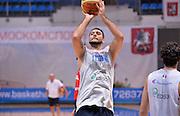 DESCRIZIONE : Qualificazioni EuroBasket 2015 - Allenamento <br /> GIOCATORE : Pietro Aradori<br /> CATEGORIA : nazionale maschile senior A <br /> GARA : Qualificazioni EuroBasket 2015 viaggio - Allenamento<br /> DATA : 11/08/2014 <br /> AUTORE : Agenzia Ciamillo-Castoria