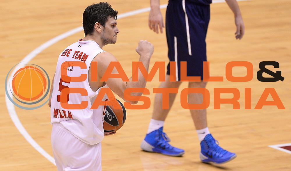 DESCRIZIONE : Milano Eurolega 2013/14 EA7 Olimpia Milano Efes Istanbul<br /> GIOCATORE : Alessandro Gentile<br /> CATEGORIA : esultanza<br /> SQUADRA : EA7 Olimpia MIlano<br /> EVENTO : Eurolega 2013/14<br /> GARA : EA7 Olimpia Milano Efes Istanbul<br /> DATA : 22/11/2013<br /> SPORT : Pallacanestro <br /> AUTORE : Agenzia Ciamillo-Castoria/R.Morgano<br /> Galleria : Eurolega 2013-2014  <br /> Fotonotizia : Milano Eurolega 2013/14 EA7 Olimpia Milano Efes Istanbul <br /> Predefinita :