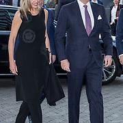 "NLD/Amsterdam/20180418 - Koning en Koningin bij premiere ""Gurre-Lieder"", Koning Willem Alexander en koningin Maxima"