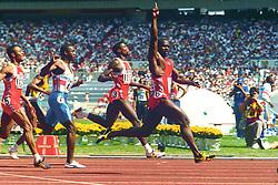 Ben Johnson wins the 100m in Seoul