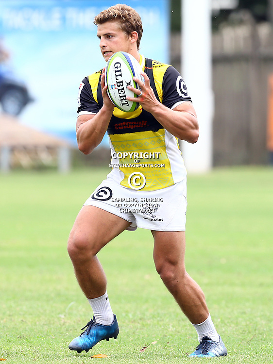 DURBAN, SOUTH AFRICA - JANUARY 13: Patrick Lambie during the Cell C Sharks training session at Growthpoint Kings Park on January 13, 2017 in Durban, South Africa. (Photo by Steve Haag/Gallo Images)