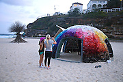 Sculpture By The Sea, Bondi, Sydney..The world's largest annual free-to-the-public outdoor sculpture exhibition, Sculpture by the Sea, Bondi. 23.10.12.poom by Staccato