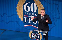 06.04.2016, Palais Ferstel, Wien, AUT, FPÖ, Festakt anlässlich 60 Jahre Freiheitlich Partei Österreich. im Bild Klubobmann FPÖ Heinz-Christian Strache // Leader of the parliamentary group FPOe Heinz Christian Strache during ceremonial act according to 60 years of the austrian freedom party in austria. Vienna, Austria on 2016/04/06. EXPA Pictures © 2016, PhotoCredit: EXPA/ Michael Gruber