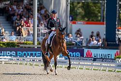 Hughes Gareth, GBR, Classic Briolinca<br /> European Championship Dressage<br /> Rotterdam 2019<br /> © Hippo Foto - Dirk Caremans