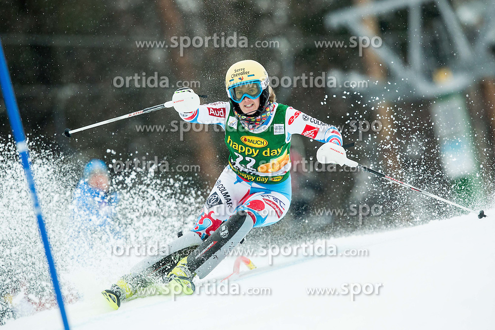 MOUGEL Laurie (FRA) competes during the 1st Run of 7th Ladies' Slalom at 51st Golden Fox of Audi FIS Ski World Cup 2014/15, on February 22, 2015 in Pohorje, Maribor, Slovenia. Photo by Vid Ponikvar / Sportida