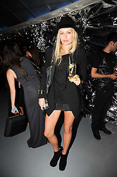 ALEXANDRA SPENCER at a party to celebrate the launch of Bang a new male fragrance by Marc Jacobs held at the Fith Floor Restaurant, Harvey Nichols, Knightsbridge, London on 22nd July 2010.