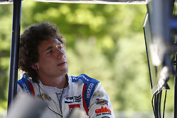 June 23, 2018 - Elkhart Lake, Wisconsin, United States of America - MATHEUS LEIST (4) of Brazil prepares to take to the track to qualify for the KOHLER Grand Prix at Road America in Elkhart Lake, Wisconsin. (Credit Image: © Justin R. Noe Asp Inc/ASP via ZUMA Wire)