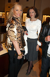 Left to right, HRH PRINCESS MICHAEL OF KENT and LADY BLACK at a party to celebrate the publication of 'Last Voyage of The Valentina' by Santa Montefiore at Asprey, 169 New Bond Street, London W1 on 12th April 2005.<br /><br />NON EXCLUSIVE - WORLD RIGHTS