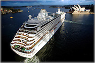 Copyright JIm Rice © 2013. Crystal serenity . <br />