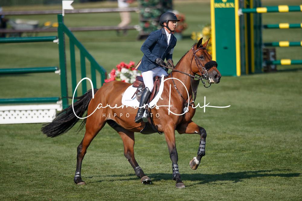 Farrington Kent, USA, Gazelle<br /> Spruce Meadows Masters - Calgary 2017<br /> &copy; Dirk Caremans<br /> 06/09/2017,