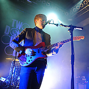 WASHINGTON, D.C. - January 20th, 2011: Irish rock band 2 Door Cinema Club perform at the 9:30 Club in Washington, D.C. The band is opening for Tokyo Police Club on a two week tour of the United States.  (Photo by Kyle Gustafson/For The Washington Post)